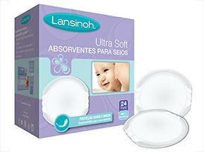 Absorventes Descartáveis para Seios Ultra Soft